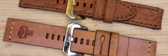 camel leather watch straps